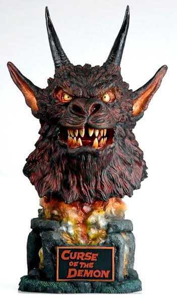 Curse Of The Demon Demon Big Head Bust Model Kit