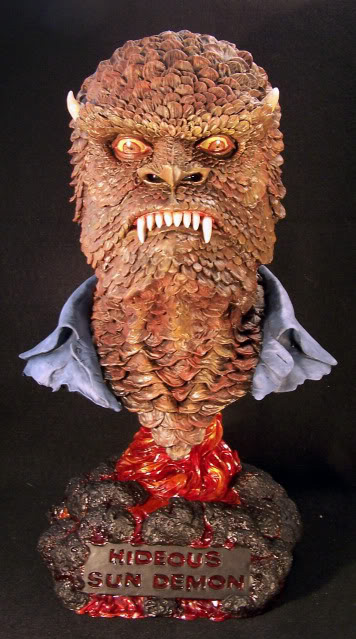Hideous Sun Demon 1/2 Scale Big Head Bust Model Kit