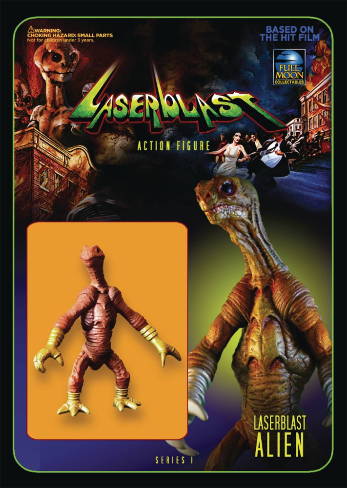 "Laserblast Alien 2.5"" Re-Action Action Figure"