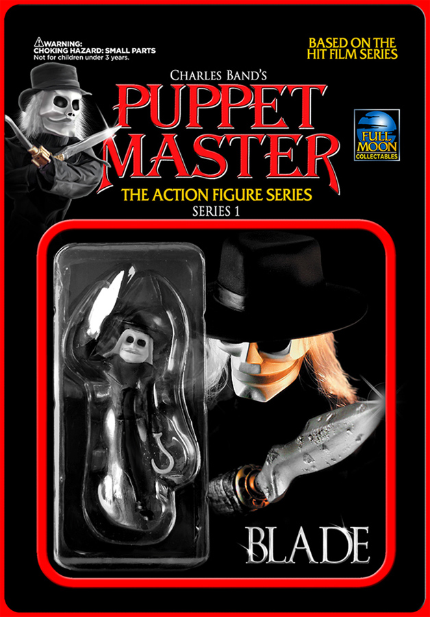 "Puppet Master Blade 3.75"" Re- Action Action Figure"