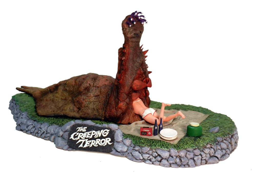 Creeping Terror Diorama Model