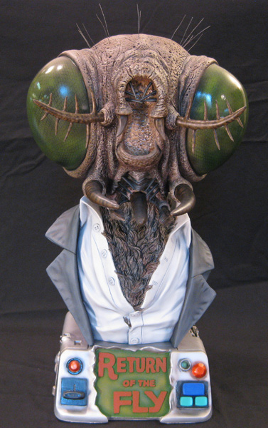 Return Of The Fly 18 Inch 1/2 Scale Big Head Bust Model Kit