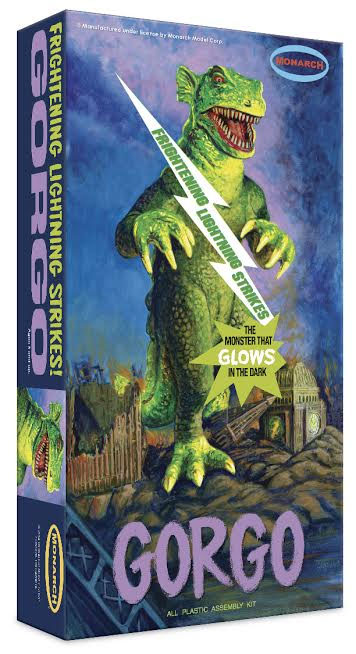Gorgo Frightning Lightning LIMITED EDITION Glow In The Dark Monarch Plastic Model Kit