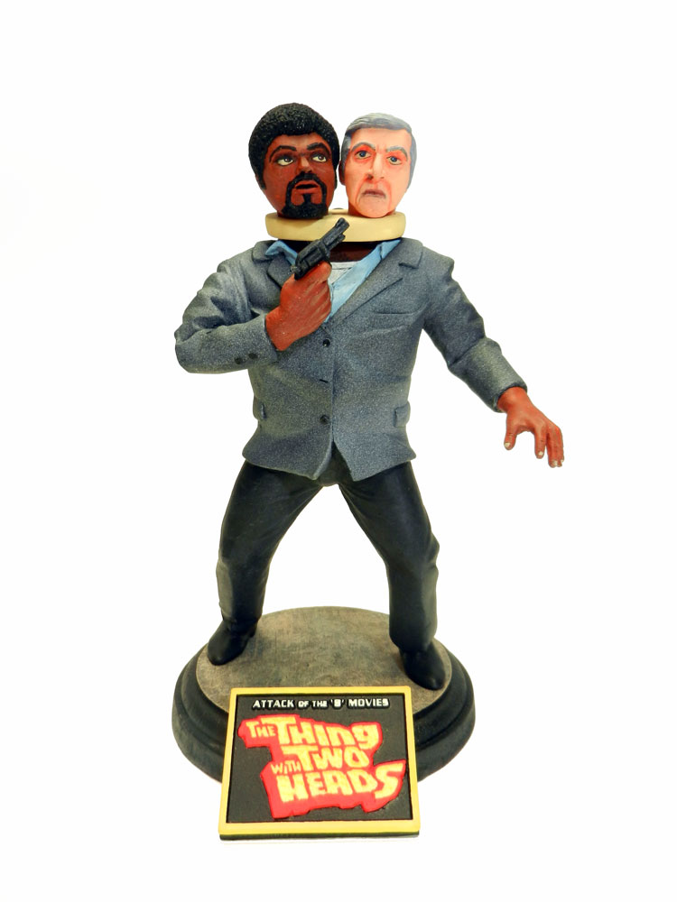 Thing With Two Heads 1/8 Scale B-Movie Resin Model Kit
