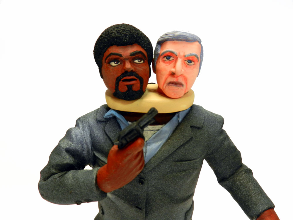 Thing With Two Heads 1 8 Scale B Movie Resin Model Kit