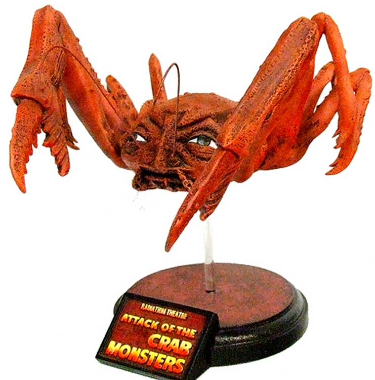 Attack Of The Crab Monster 1957 Radiation Theatre Resin Model Kit