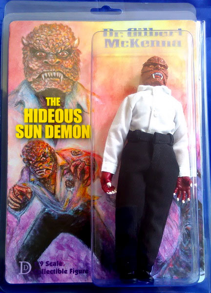 "Hideous Sun Demon 8"" Retro Mego Style Figure LIMITED EDITION"