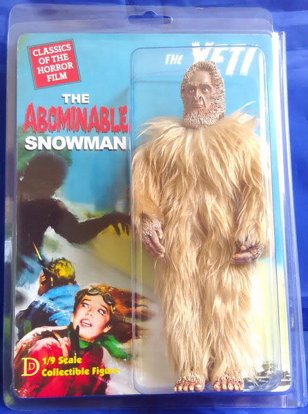 "Abominable Snowman 8"" Retro Mego Style Figure LIMITED EDITION"