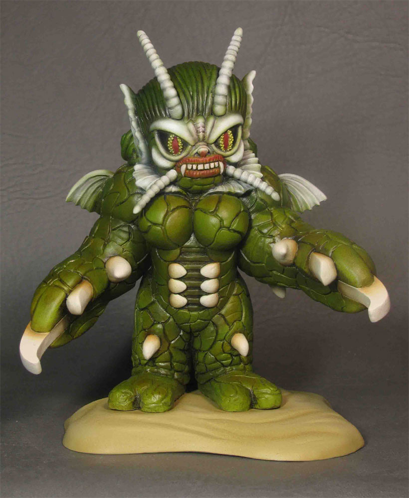 She Creature Super Deformed Mini Prepainted Statue