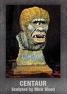 Centaur Legends of Stop Motion Bust Model Kit by Mick Wood