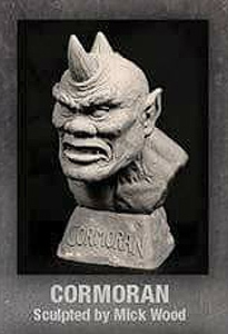 Jack The Giant Killer Cormoran Legends of Stop Motion Bust Model Kit by Mick Wood