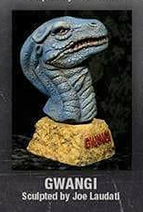 Gwangi Legends of Stop Motion Bust Model Kit by Mick Wood / Joe Laudati