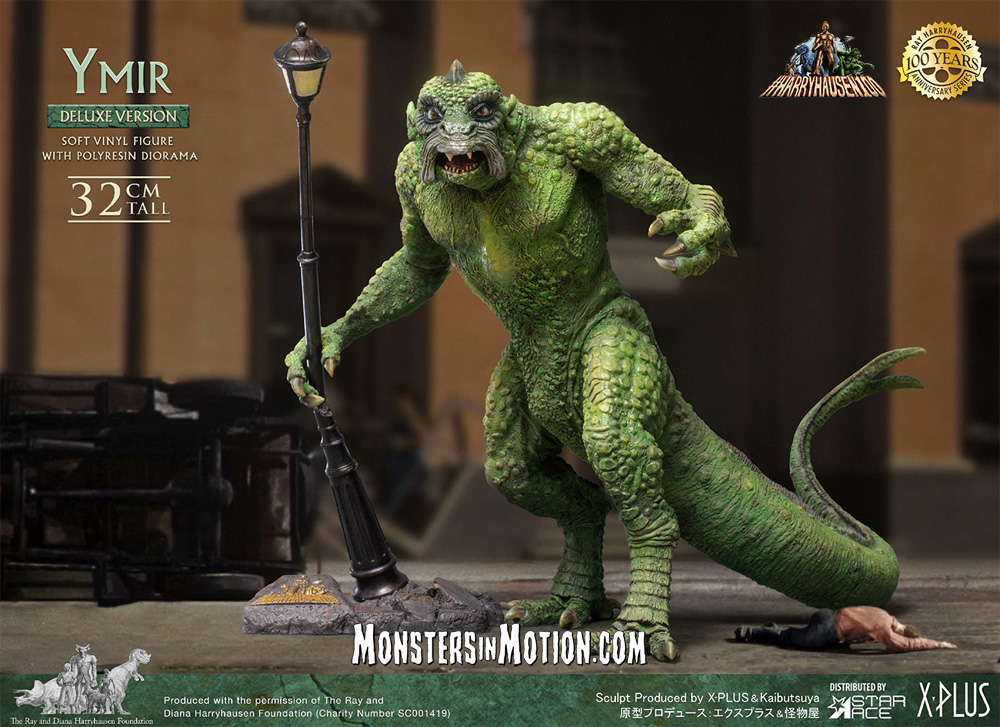 20 Million Miles to Earth YMIR Deluxe Statue by X-Plus Ray Harryhausen 100th Anniversary