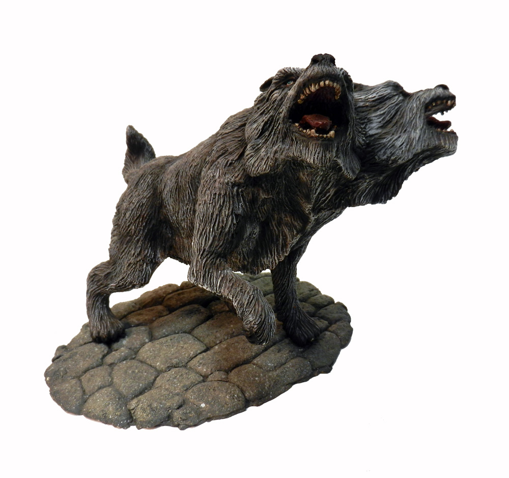 Two Headed Wolf Resin Model Kit