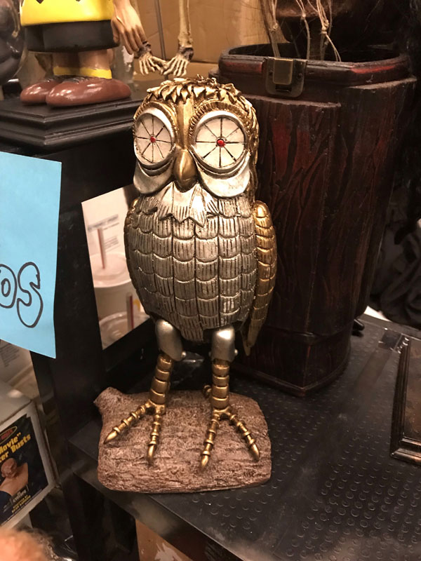 Bubo The Owl Model Kit