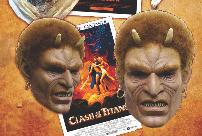 Clash Of The Titans 1981 Calibus Latex Halloween Mask
