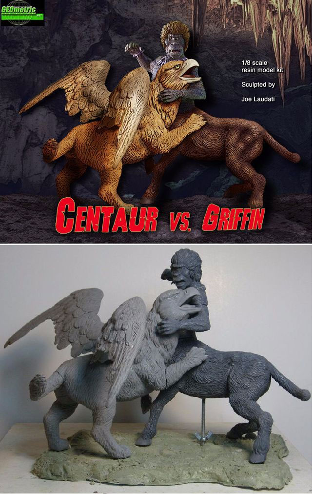 Centaur Vs. Griffin 1/8 Scale Diorama Model Kit