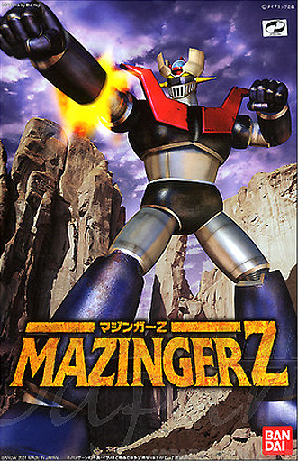Mazinger Z Mechanic Collection Model Kit by Bandai Japan