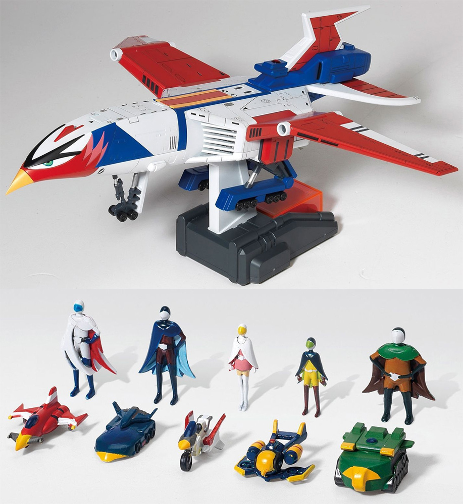 "Battle of the Planets Gatchaman God Phoenix 14"" Model Kit by Doyusha"