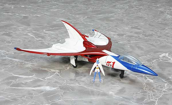 Battle Of The Planets Gatchaman G-1 Diecast Vehicle Repaint Version by Fewture