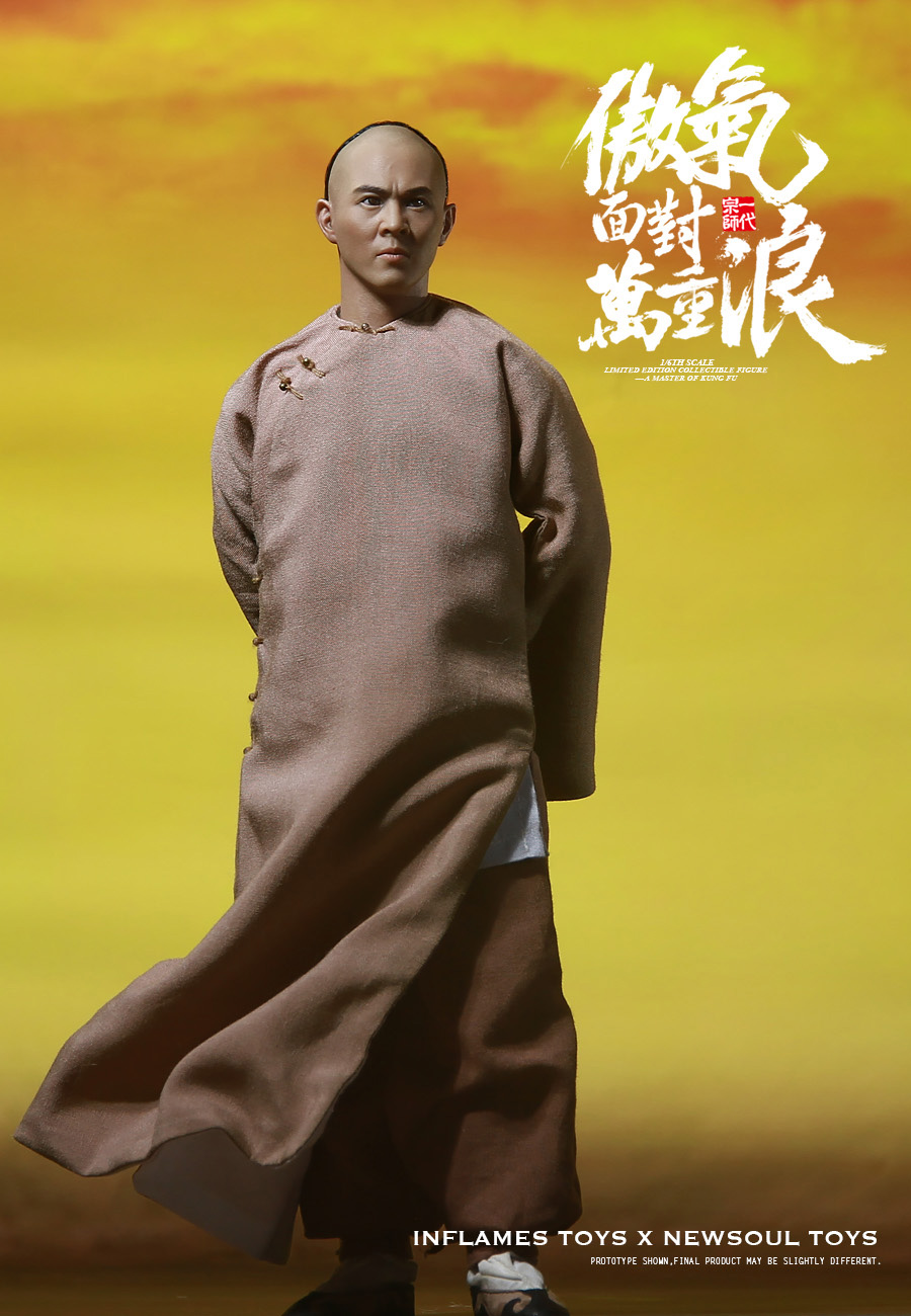 Jet Li Master Of Kung Fu 1/6 Scale Figure by Inflames Toys