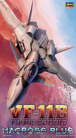 Macross Plus VF-11B Thunderbolt Valkyrie 1/72 Scale Model Kit by Hasegawa