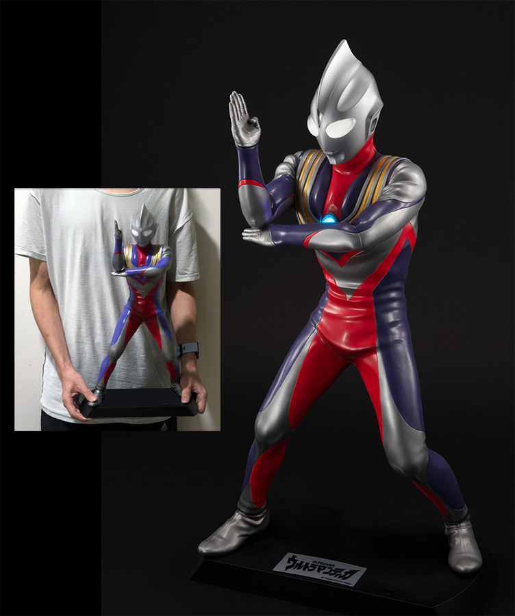 Ultraman Tiga Megahouse Giant Figure
