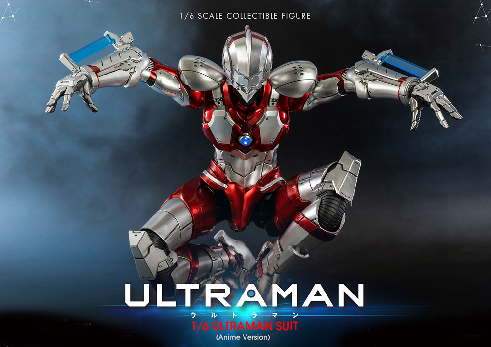 Ultraman 2019 1/6 Scale Figure Anime Version (Netflix) by Three Zero