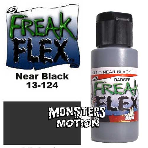 Freak Flex Near Black Paint 1 Ounce Flip Top Bottle