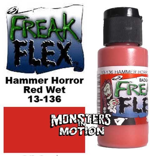 Freak Flex Hammer Horror Red Wet Paint 1 Ounce Flip Top Bottle