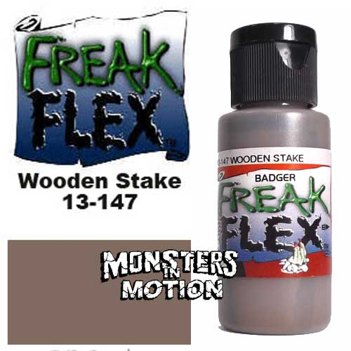 Freak Flex Wooden Stake Paint 1 Ounce Flip Top Bottle