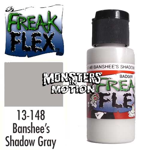 Freak Flex Banshee's Shadow Gray Paint 1 Ounce Flip Top Bottle