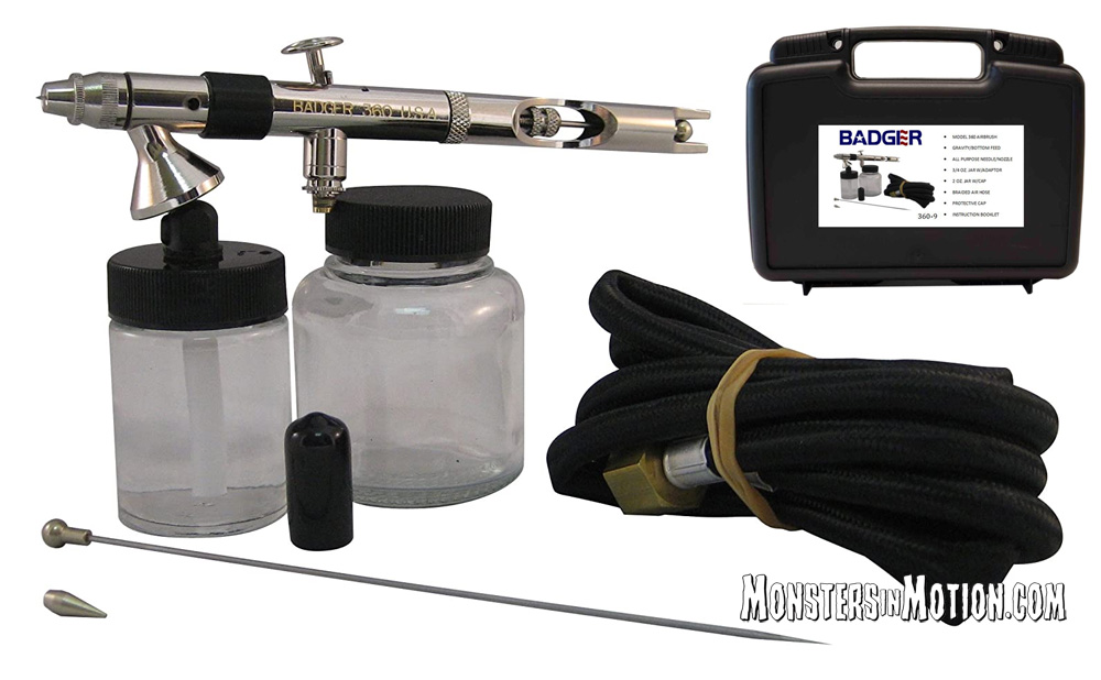 Badger Airbrush 360-9 Universal Deluxe Airbrush Set with Storage Case
