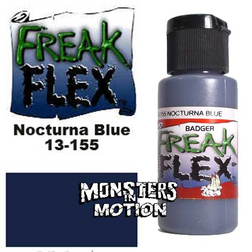 Freak Flex Nocturna Blue Paint 1 Ounce Flip Top Bottle
