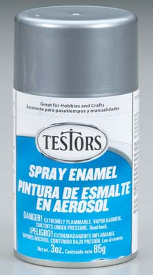 Testors Chrome Enamel 3oz. Spray Paint