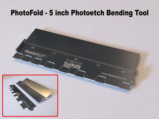 PhotoFold - 5 inch Photoetch Bending Tool