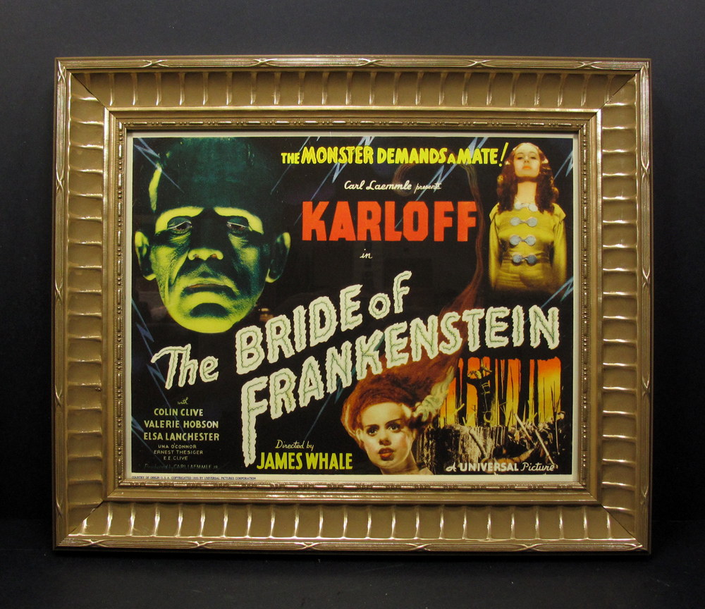 Bride of Frankenstein Framed Lobby Card