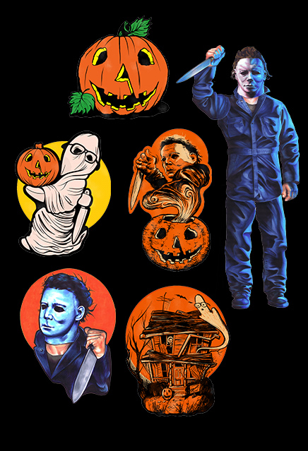 Halloween John Carpenter Classic Halloween Wall Decor Set Series 1