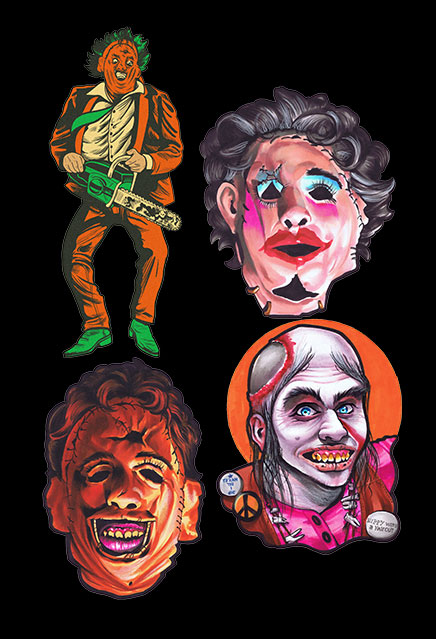 Texas Chainsaw Massacre Classic Halloween Wall Decor Series 1