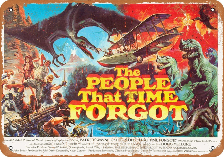 "People That Time Forgot 1977 10"" x 14"" Metal Sign"