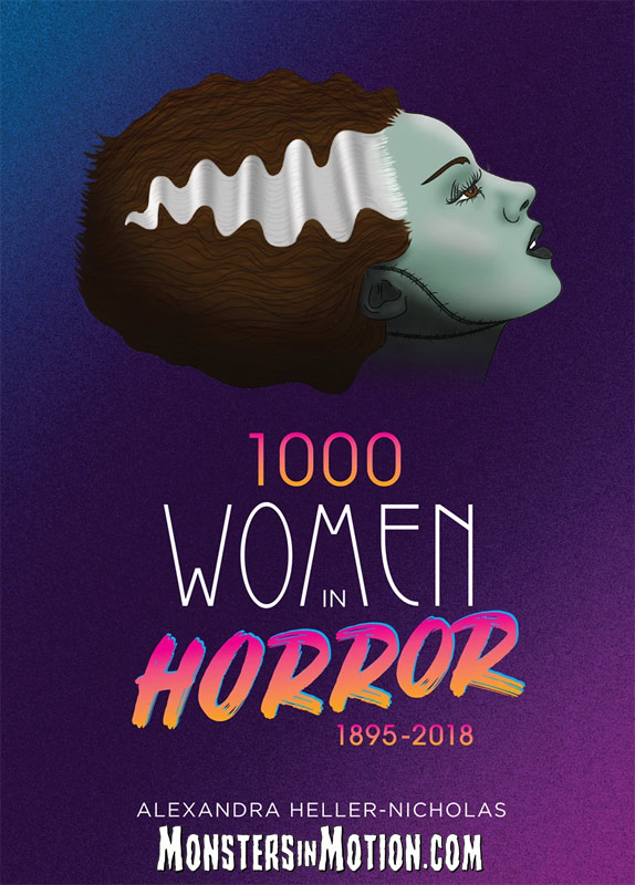 1000 Women In Horror 1895-2018 Paperback Book