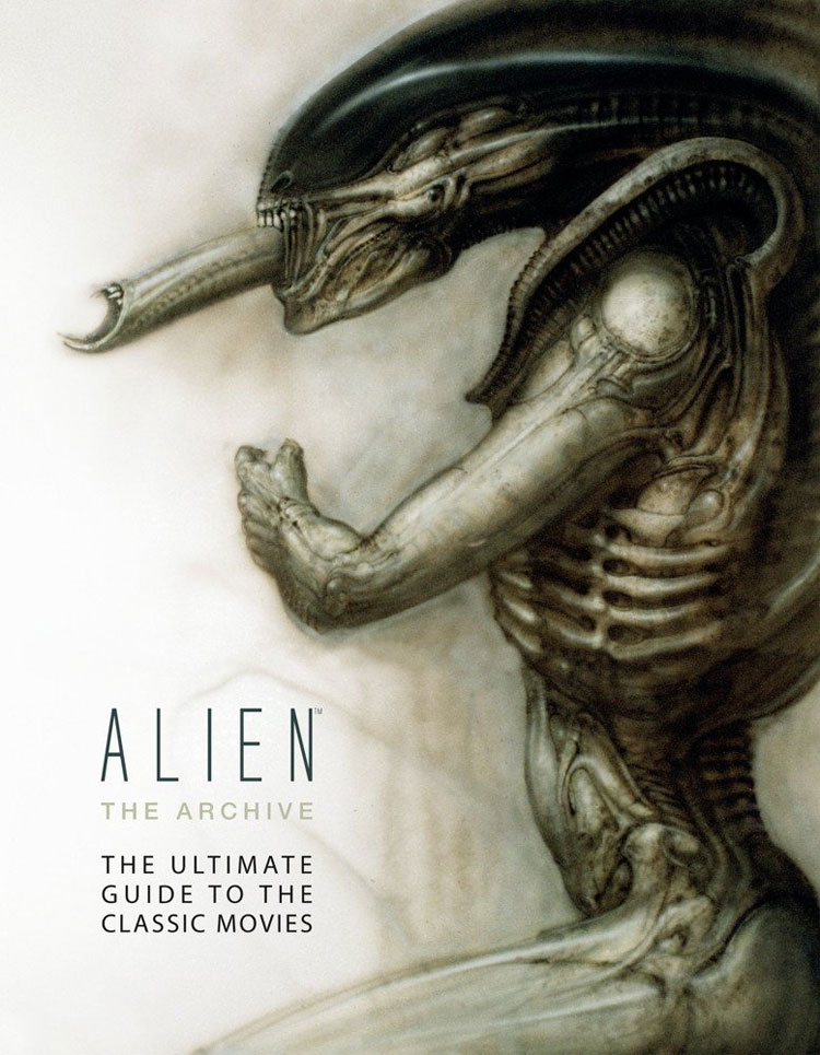 Alien the Archive Ultimate Guide to the Movies Hardcover Book