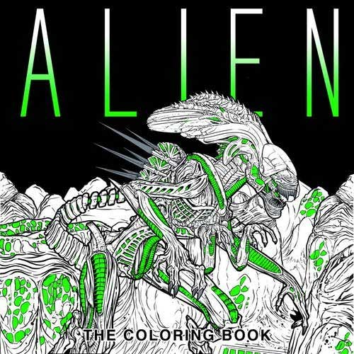 Alien: The Adult Coloring Book