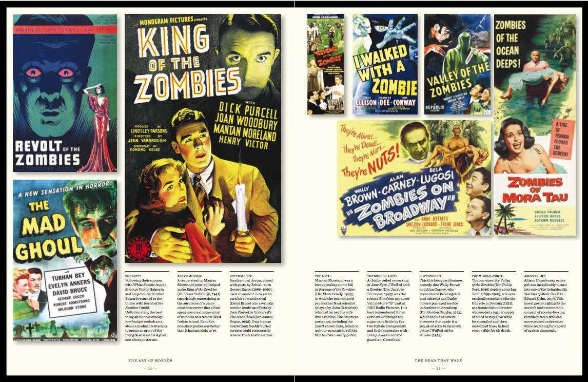 Art of Horror Movies: An Illustrated History Hardcover Book