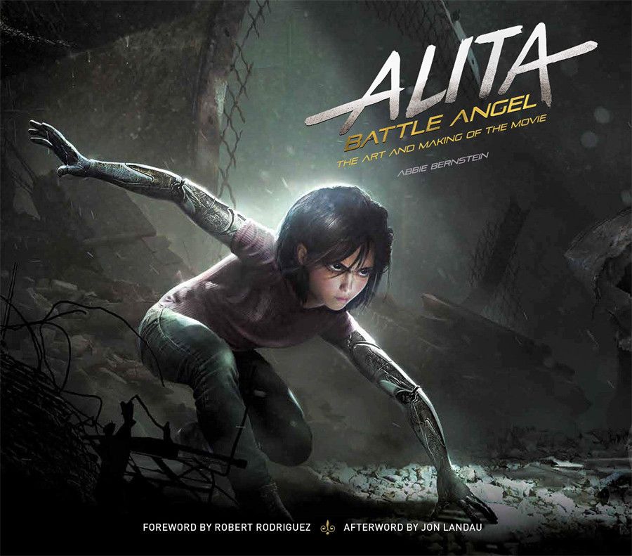 Alita: Battle Angel The Art and Making of the Movie Hardcover Book