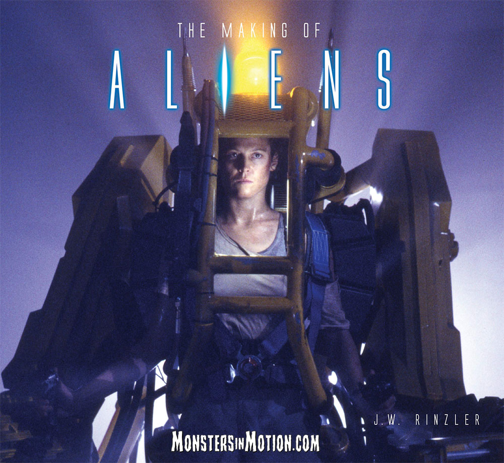 Aliens Making Of Aliens Hardcover Book by J.W. Rinzler