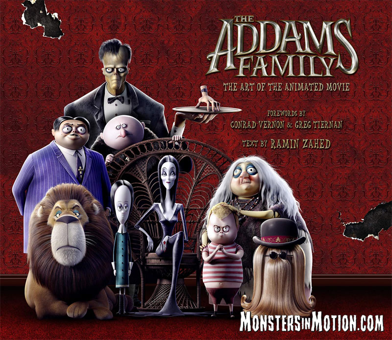 Addams Family The Art of The Addams Family Hardcover Book