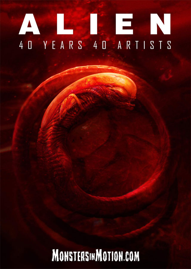 Alien: 40 Years 40 Artists Hardcover Book