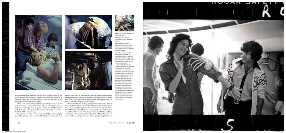 Alien 1979 Making of Hardcover Book by J.W. Rinzler