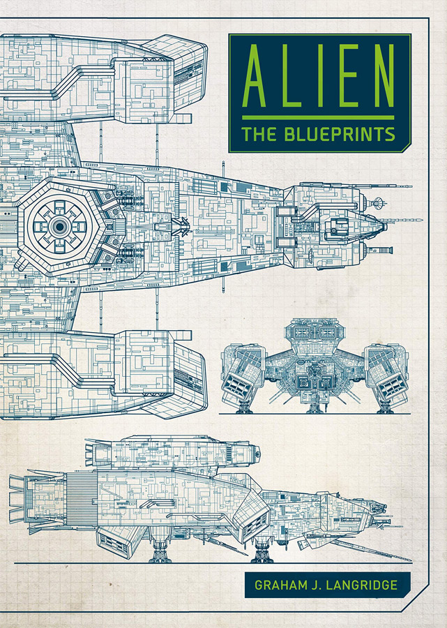 Alien: The Blueprints Hardcover Book